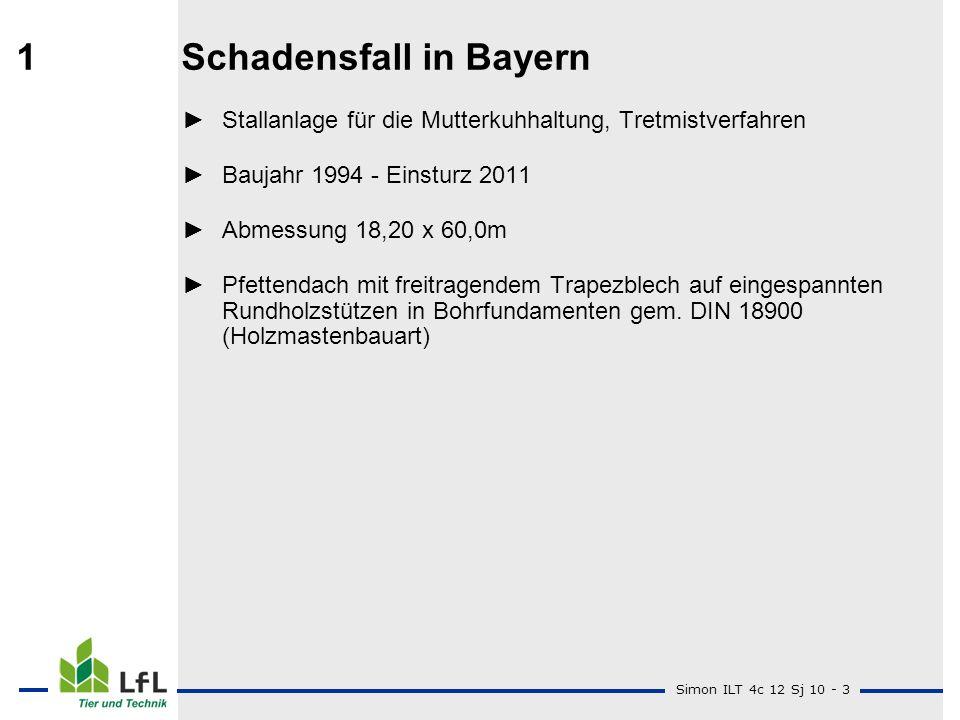 1 Schadensfall in Bayern