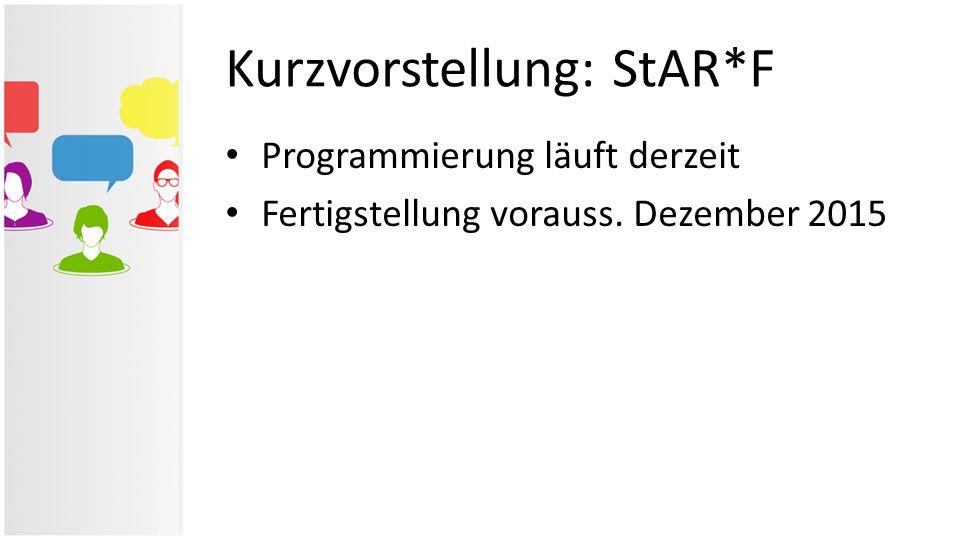 Kurzvorstellung: StAR*F