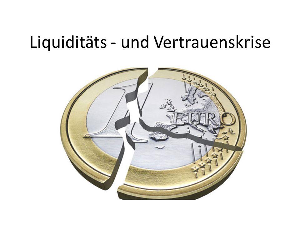 Liquiditäts - und Vertrauenskrise
