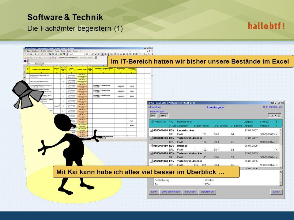 Software & Technik Die Fachämter begeistern (1)