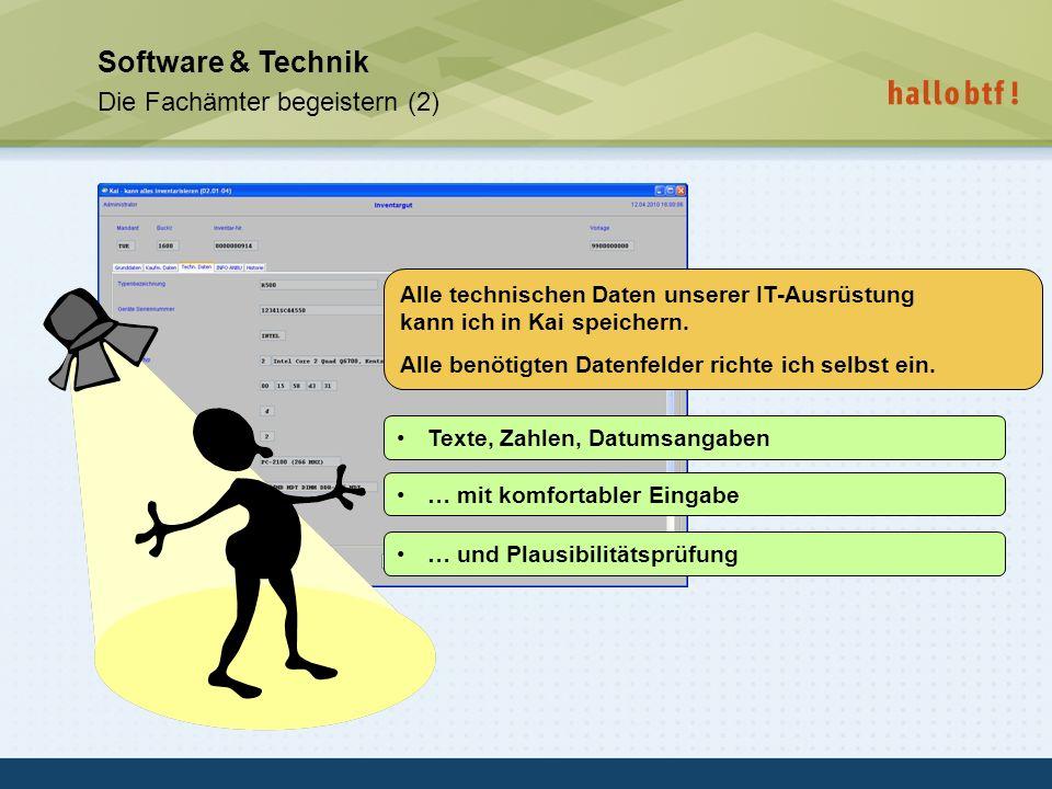 Software & Technik Die Fachämter begeistern (2)