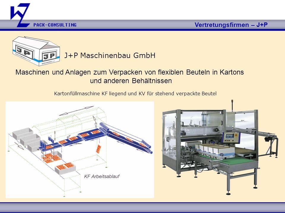 Maschinen und Anlagen zum Verpacken von flexiblen Beuteln in Kartons