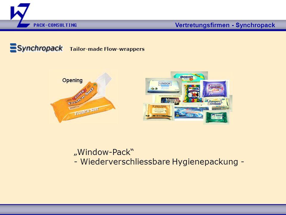 - Wiederverschliessbare Hygienepackung -