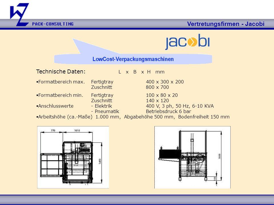 Vertretungsfirmen - Jacobi