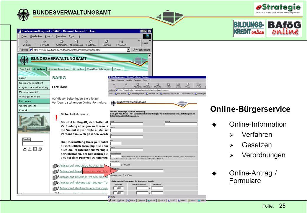 Online-Bürgerservice