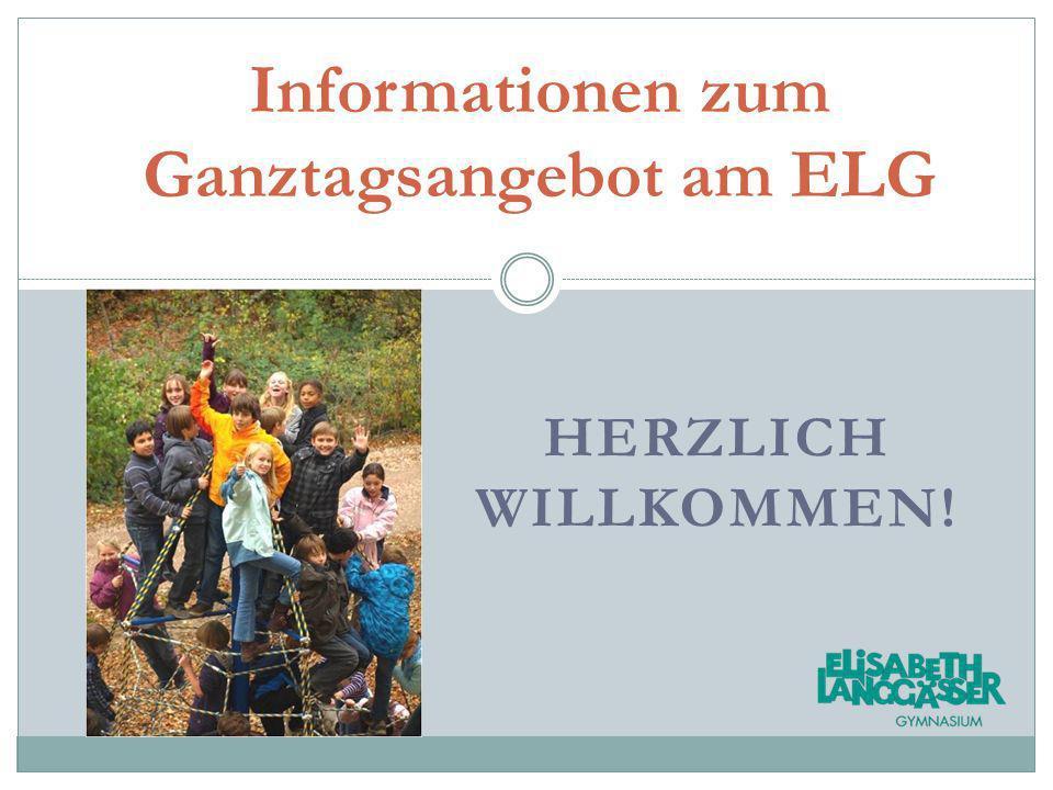Informationen zum Ganztagsangebot am ELG
