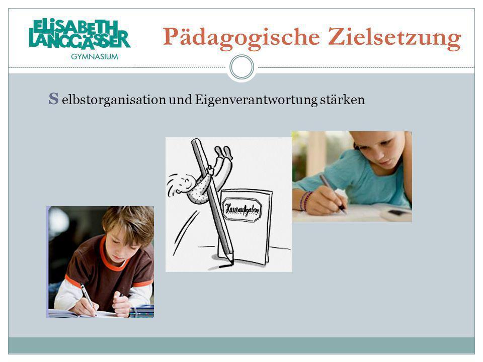 Pädagogische Zielsetzung
