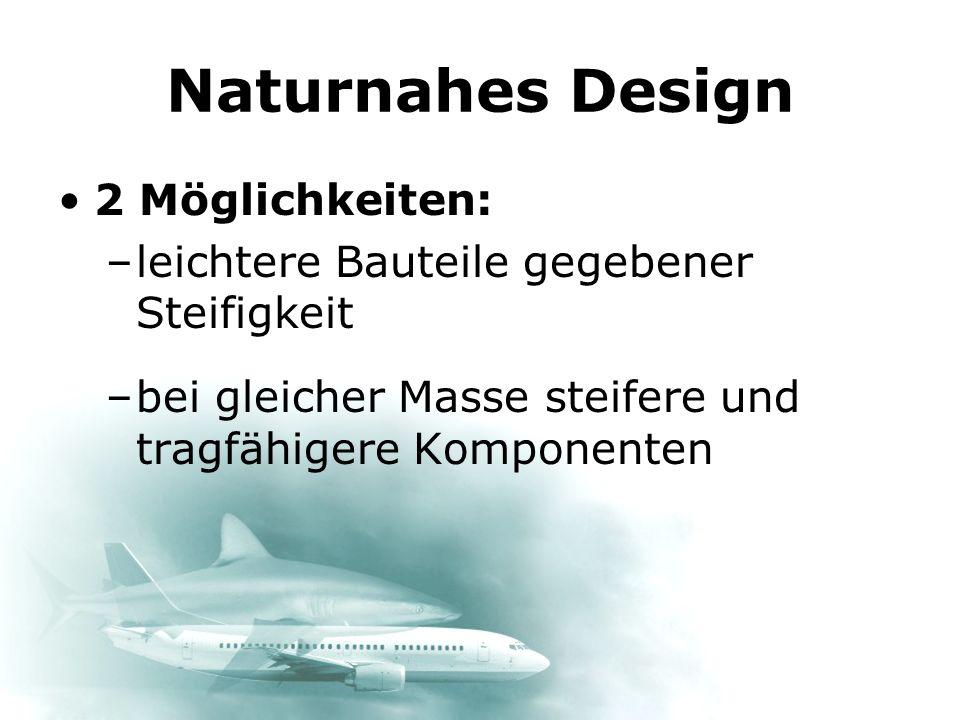 Naturnahes Design 2 Möglichkeiten: