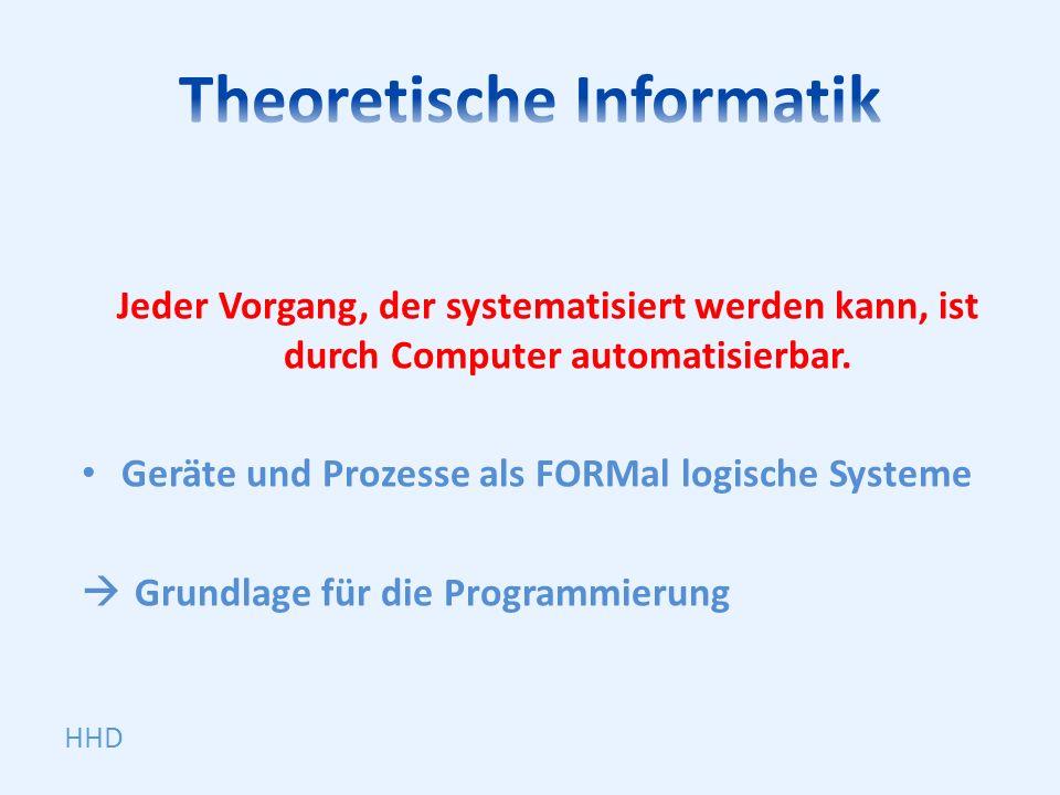 Theoretische Informatik