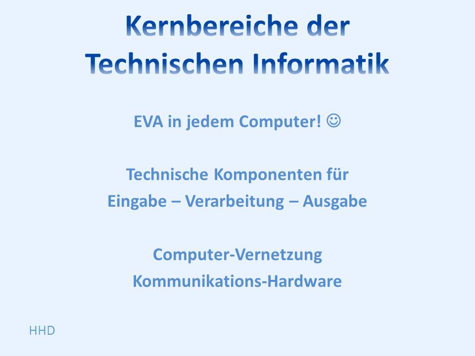 Kernbereiche der Technischen Informatik