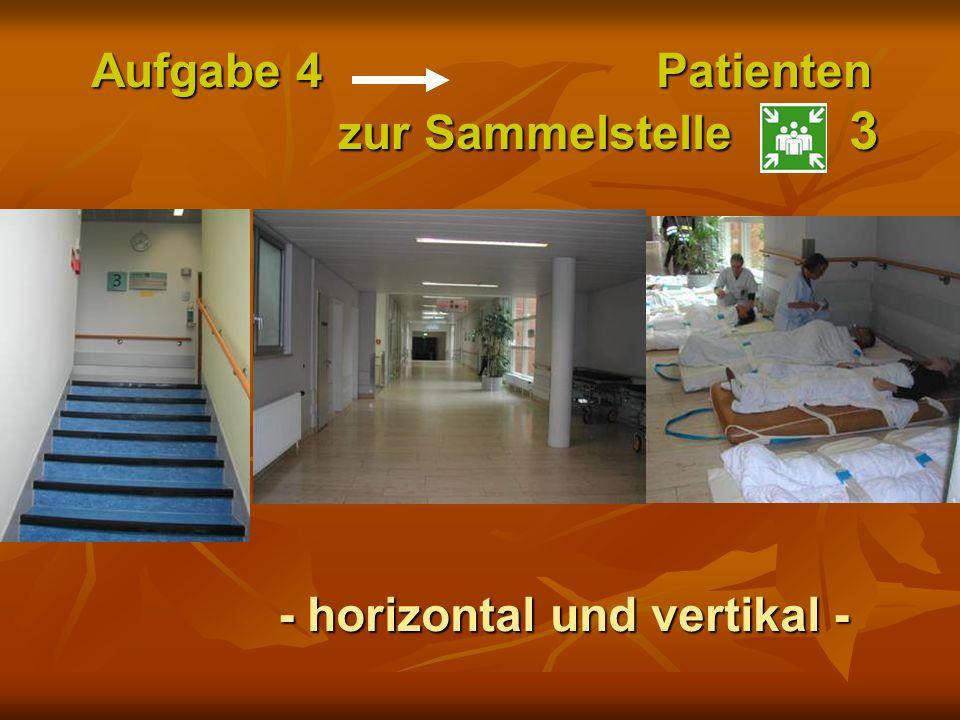 Aufgabe 4 Patienten zur Sammelstelle 3