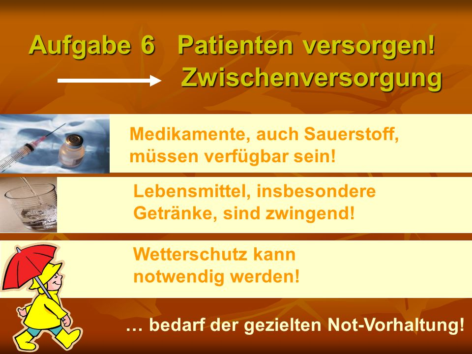 Aufgabe 6 Patienten versorgen!