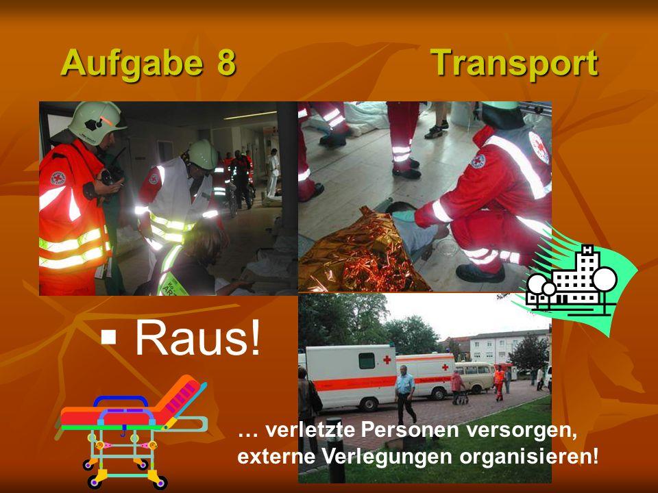 Raus! Aufgabe 8 Transport