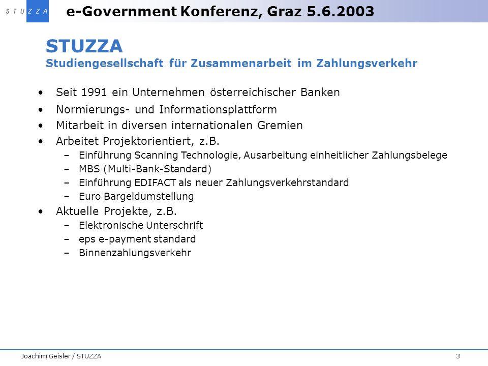 STUZZA Studiengesellschaft für Zusammenarbeit im Zahlungsverkehr