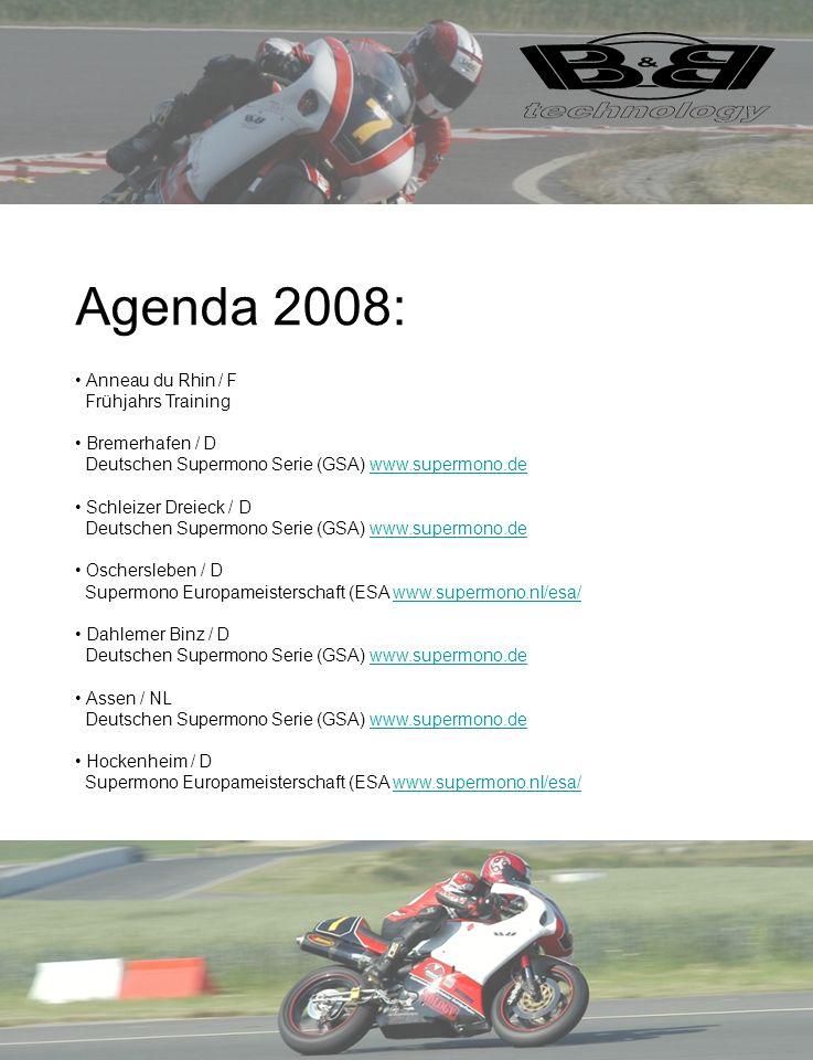 Agenda 2008: Anneau du Rhin / F Frühjahrs Training