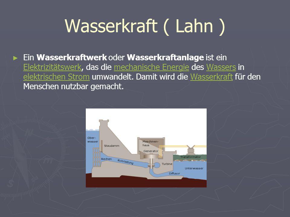 Wasserkraft ( Lahn )