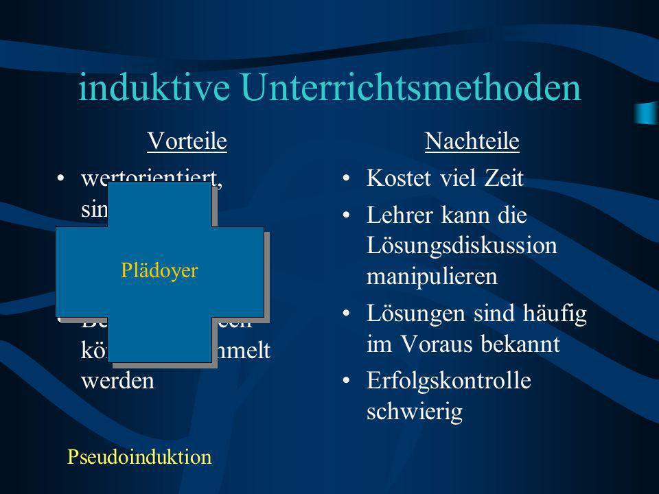 induktive Unterrichtsmethoden