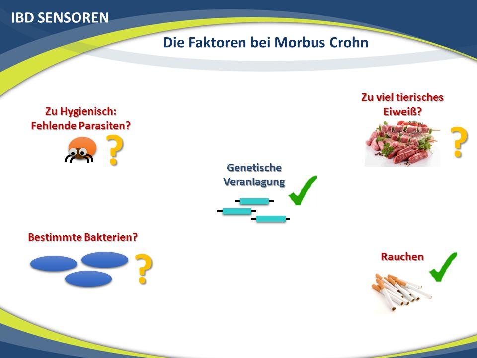 IBD SENSOREN Die Faktoren bei Morbus Crohn