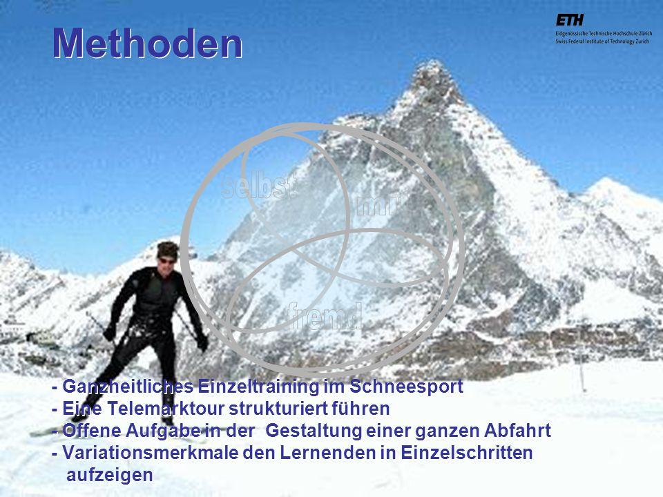 ETH Zürich IBSW Lernstufen und Sicherheit - Pius Disler