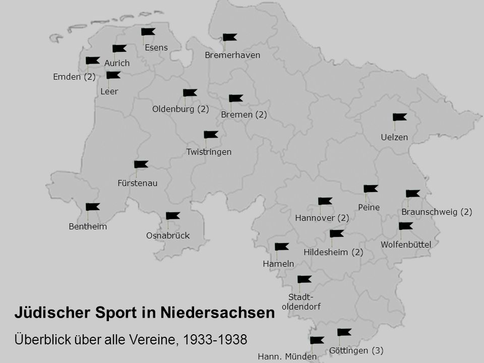 Jüdischer Sport in Niedersachsen