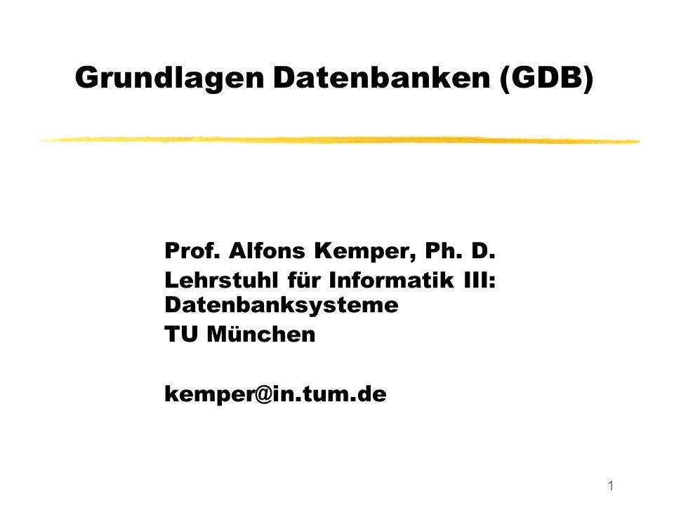 Grundlagen Datenbanken (GDB)