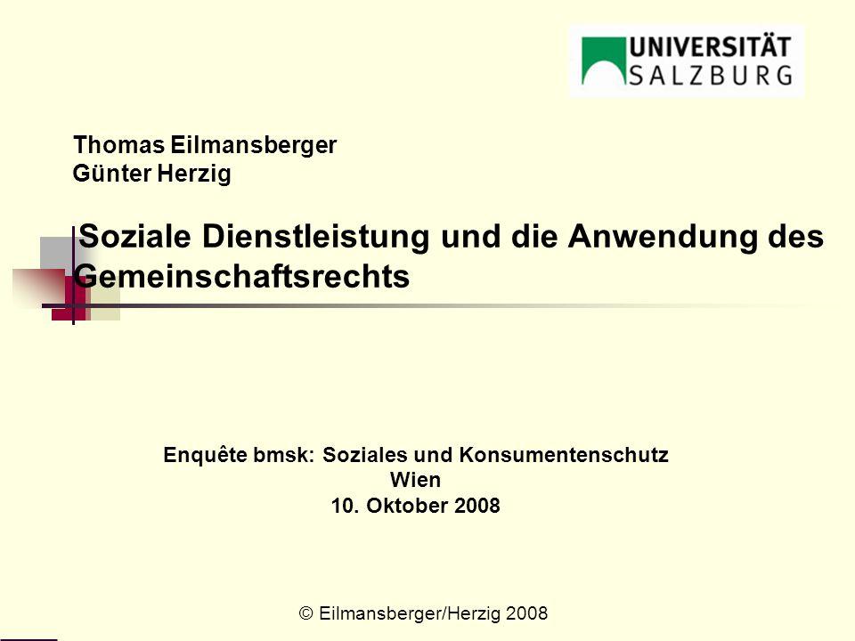 Enquête bmsk: Soziales und Konsumentenschutz Wien 10. Oktober 2008