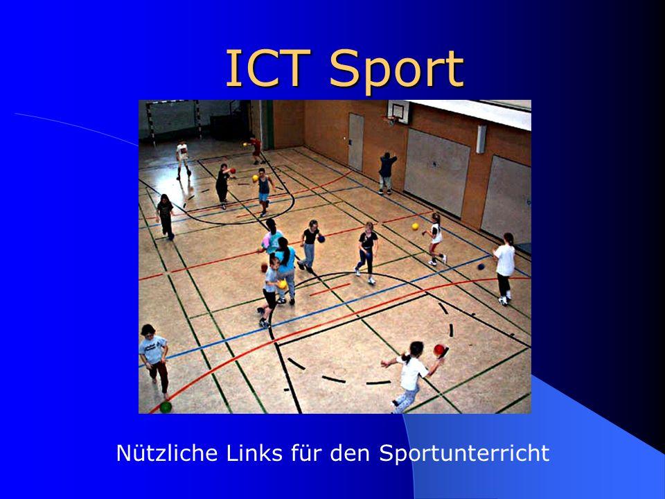 Nützliche Links für den Sportunterricht