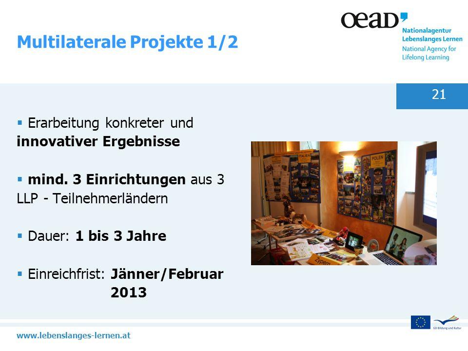 Multilaterale Projekte 1/2