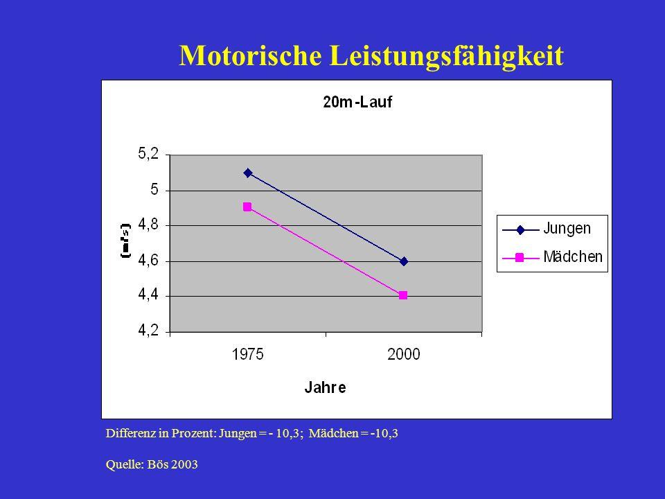 Motorische Leistungsfähigkeit