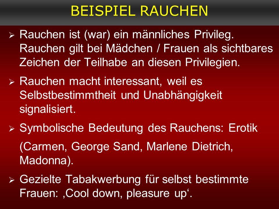 BEISPIEL RAUCHEN