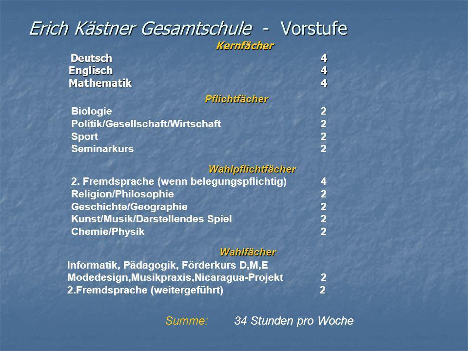 Erich Kästner Gesamtschule - Vorstufe