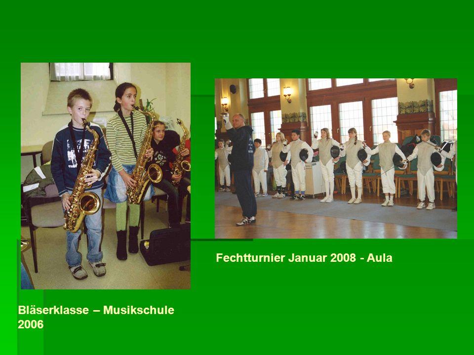 Fechtturnier Januar 2008 - Aula