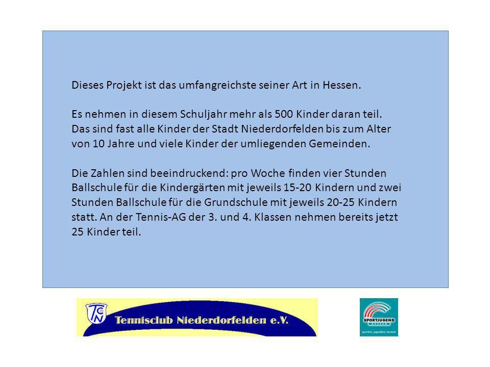 Dieses Projekt ist das umfangreichste seiner Art in Hessen.
