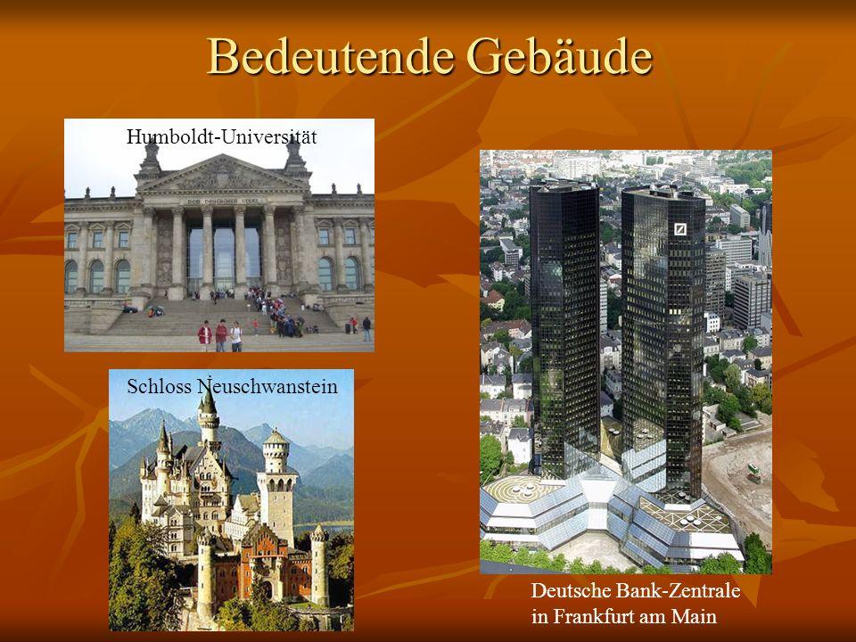 Bedeutende Gebäude Humboldt-Universität Schloss Neuschwanstein