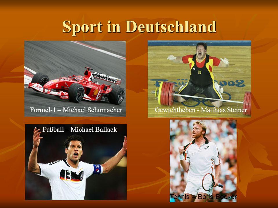 Sport in Deutschland Formel-1 – Michael Schumacher