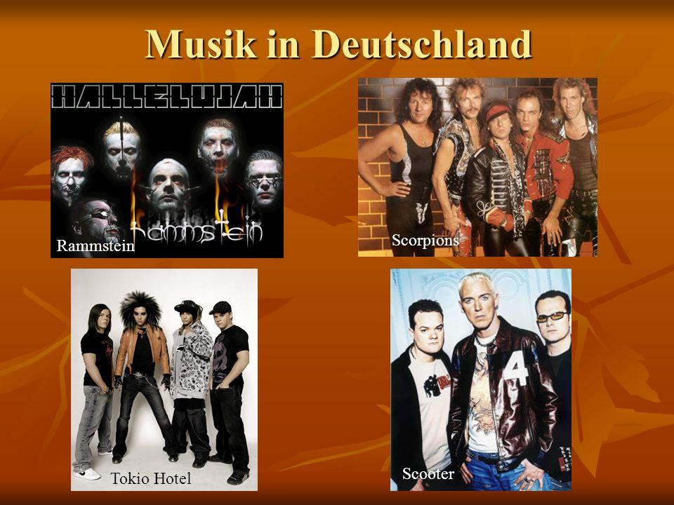 Musik in Deutschland Scorpions Rammstein Scooter Tokio Hotel