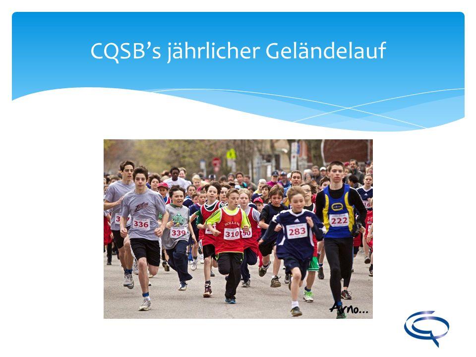 CQSB's jährlicher Geländelauf