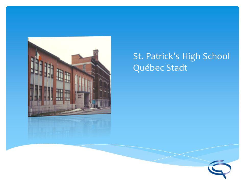 St. Patrick's High School Québec Stadt