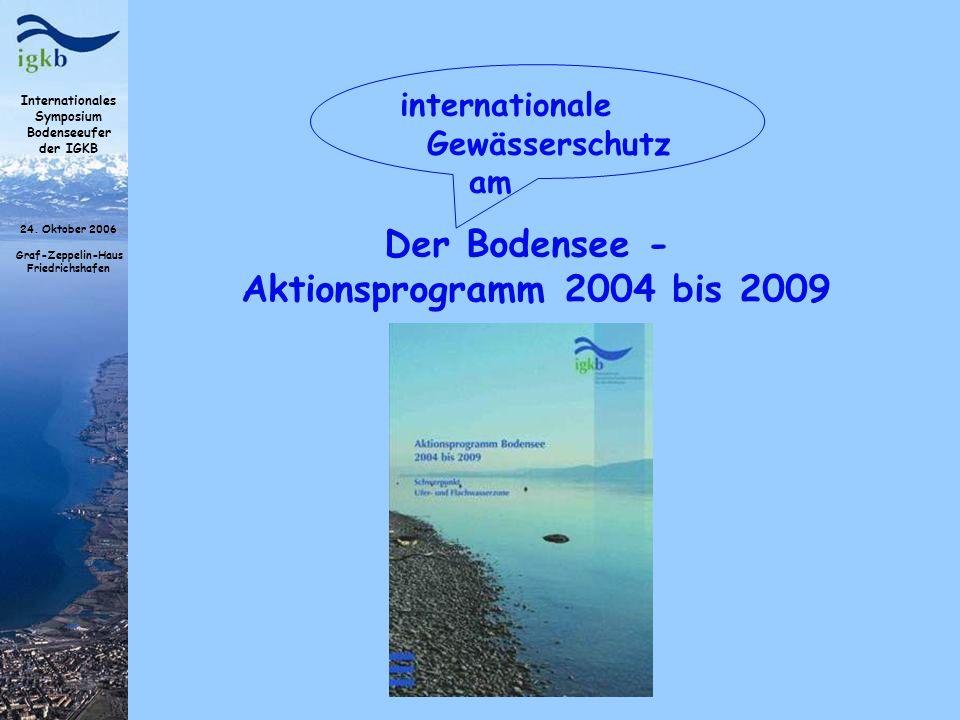 Der Bodensee - Aktionsprogramm 2004 bis 2009