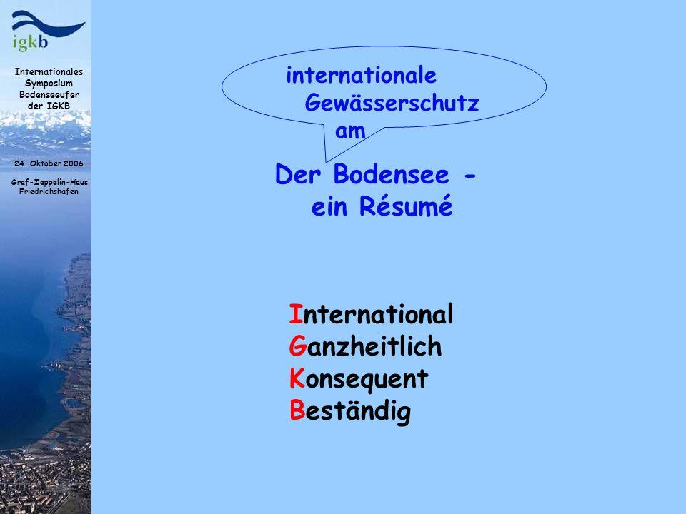 Der Bodensee - ein Résumé