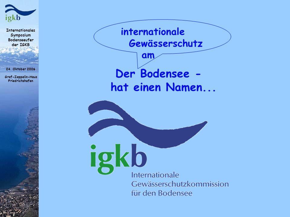Der Bodensee - hat einen Namen...