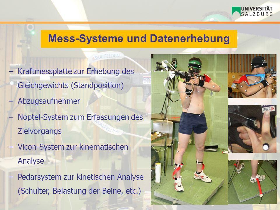 Mess-Systeme und Datenerhebung