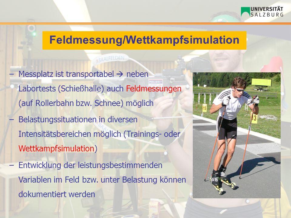 Feldmessung/Wettkampfsimulation