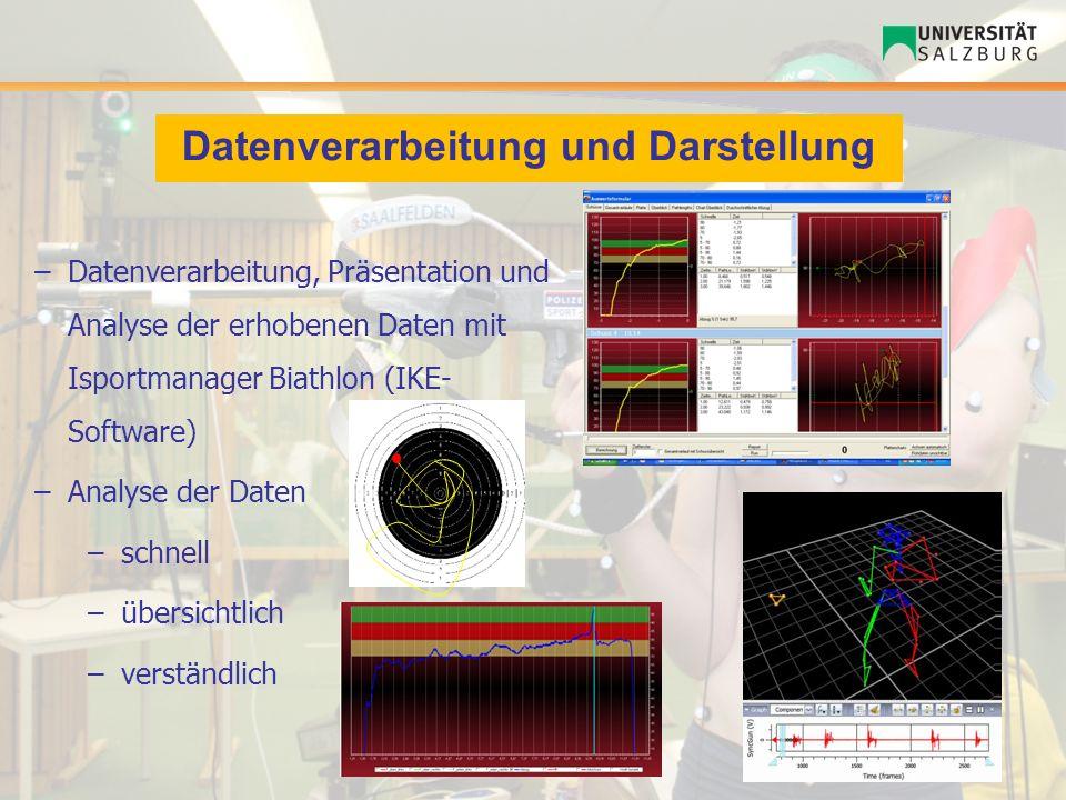 Datenverarbeitung und Darstellung