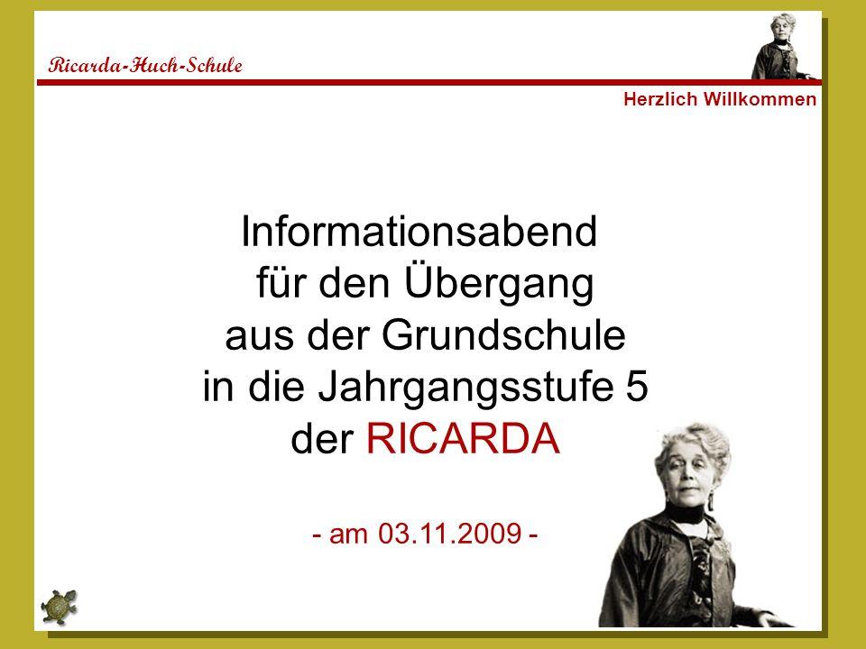 Informationsabend für den Übergang aus der Grundschule