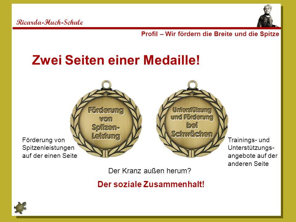Zwei Seiten einer Medaille!