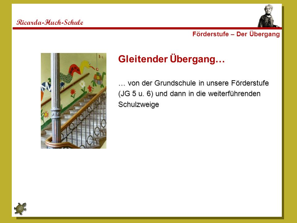 Gleitender Übergang… Ricarda-Huch-Schule