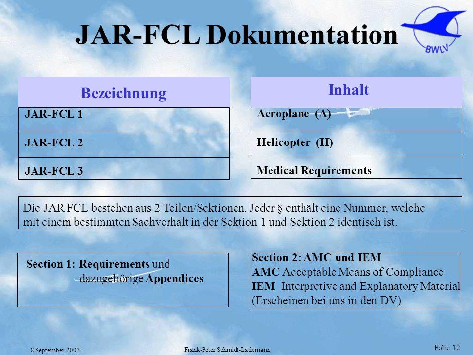 JAR-FCL Dokumentation