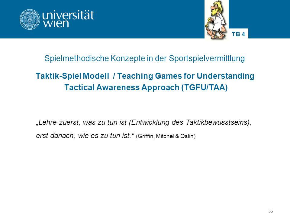 Spielmethodische Konzepte in der Sportspielvermittlung