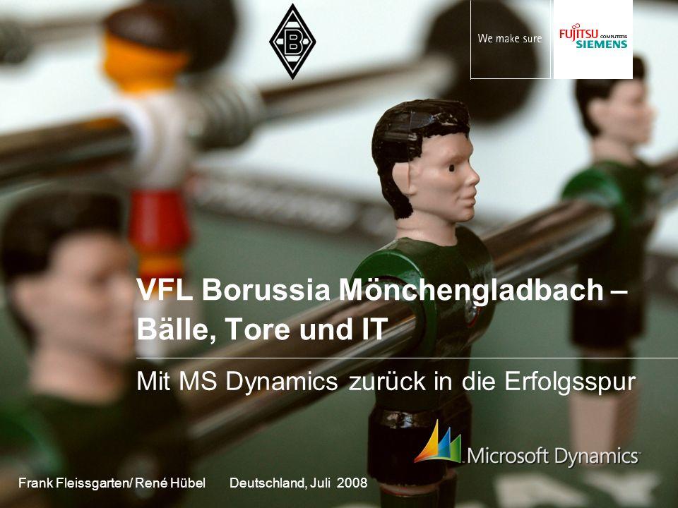 VFL Borussia Mönchengladbach – Bälle, Tore und IT